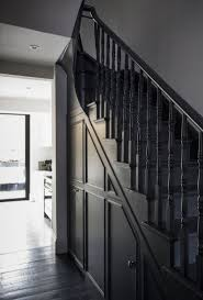 black staircase 27 painted staircase ideas which make your stairs look new event