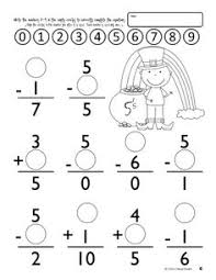 missing numbers for first grade first grade missing numbers