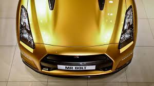 gold nissan car nissan gt r bolt gold headed down under after australian wins
