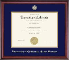 frame for diploma diploma box classic ucsb bookstore