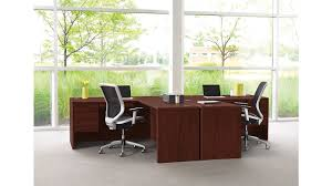 office desk with credenza 10700 series hon office furniture