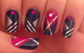 easy striping tape nail art tutorial youtube