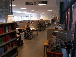 silent reading room facilities and equipment tampere