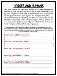 horse facts and worksheets for kids u2022 kidskonnect