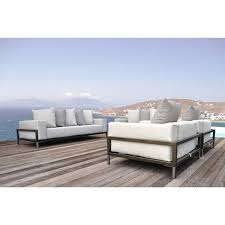 deep seated sofa solis nubis deep seated sofa for indoors and outdoors free