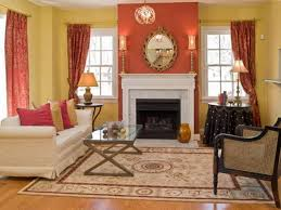 what color curtains go with light orange walls curtain
