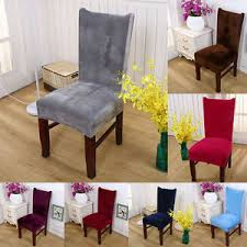 fabric chair covers removable stretch fox pile fabric chair cover wedding hotel