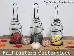 Lantern Centerpiece Fall Lantern Centerpiece The Country Chic Cottage