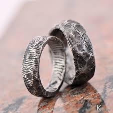 damascus steel wedding band damascus steel mens wedding rings custom wedding ring stainless