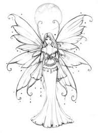art drawings fairies fairy pictures colour