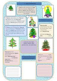 22 free esl christmas tree worksheets
