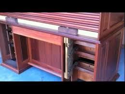 Oak Crest Desk Lyon Furniture Australia Rolltop Desk Drawer Lock Mechanism