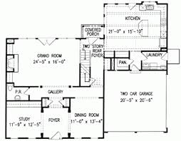 colonial style home plans 4 bedroom colonial house plans design style