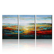 amazon com asmork canvas oil paintings abstract wall art amazon com asmork canvas oil paintings abstract wall art landscape painting home decor ready to hang 100 hand painted artwork best buy gift set