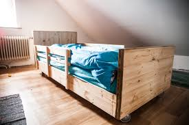 Bed Frame Made From Pallets Bedroom A Pallet Bed Furniture Made Out Of Pallets Pallet