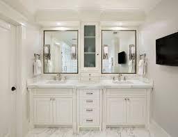 Bathroom Best  Gray Vanities Ideas On Pinterest Throughout - Bathroom vanities with tops double sink