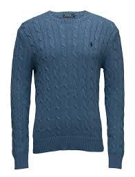 rrl ralph lauren polo ralph lauren tops knitwear round necks ls