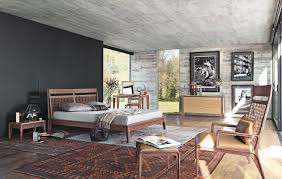 Master Bedroom Wall Treatments Amazing Simple Master Bedroom With Sliding Windows And Gray Wall