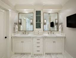 mirrored bathroom vanity cabinet black framed mirrors and off white vanity cabinets with tops for