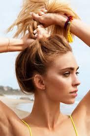 beach makeup look