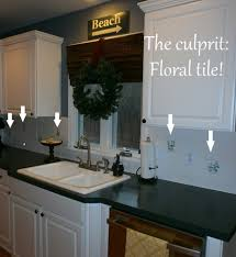 Tile Kitchen Countertops Working With Ugly Kitchen Countertops U0026 Tile Emily A Clark