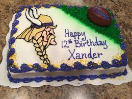 19 best minnesota vikings cakes images on pinterest minnesota