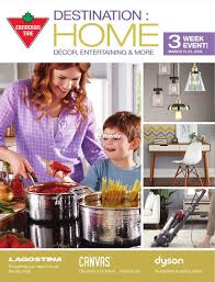 canadian tire destination home catalogue march 11 to 31 canada
