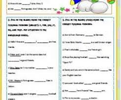 pronouns busyteacher free printable worksheets for busy english