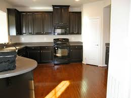 painted kitchen cabinet doors espresso kitchen cabinets with brown granite countertop on