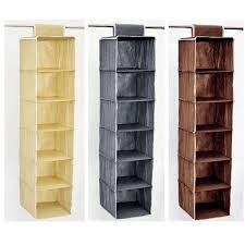 modern dressing room with hanging fabric shoe rack designs 6 cube