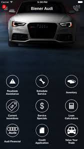 beiner audi biener audi dealerapp on the app store