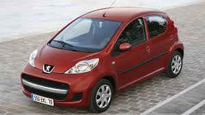 peugeot red peugeot 107 in red top pose wallpaper