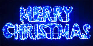 blue white christmas lights vickysun com animated 160cm led blue white merry christmas sign