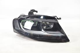 audi a4 headlights audi a4 right headlight 2008 2012 front light rhd drivers side 8k09410