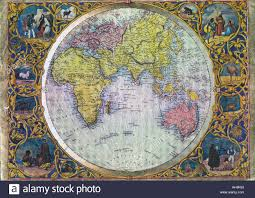 World Map Africa by Old World Map Showing Asia Africa Australia Indian Ocean India