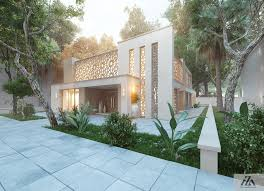 arabic modern house by mohamed zakaria design ideas