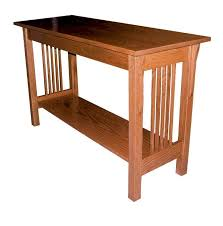Oak Sofa Table Prairie Mission Sofa Table