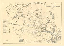 Ma Map Maps Of Salem Village 1692