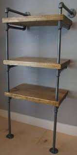 Industrial Pipe Bookcase Industrial Pipe Media Shelves Industrial Envy Llc