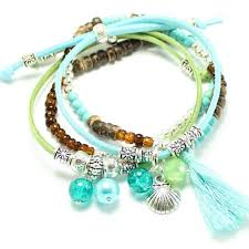 beads friendship bracelet images Seashore friendship bracelet kit waterfall beads parties kits jpg