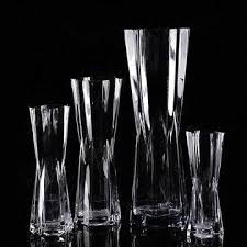 Glas Vases China Hexagon Clear Glass Vases On Global Sources