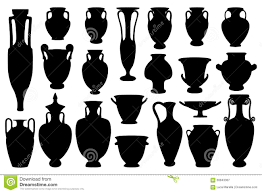 Greek Vase Design Greek Vases Stock Vector Image 58843387