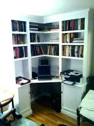 Corner Shelf Desk Computer Desks With Shelves Office Corner Shelf Image For