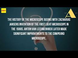 what is the history of the microscope