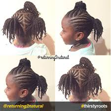 cornrow and twist hairstyle pics 20 cute natural hairstyles for little girls