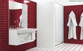 Carrelage Rouge Sol carrelage sol blanc mat cuisine blanche porte effet soft touch