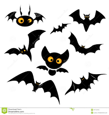 halloween bat clip art illustration stock vector image 44713415