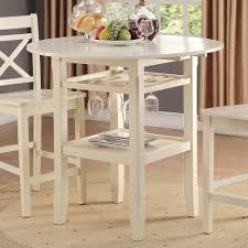 Acme Furniture Amazon Com Acme Furniture 72545 Tartys Counter Height Table