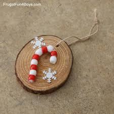Wooden Christmas Ornaments To Make How To Make Adorable Wood Slice Christmas Ornaments