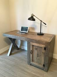 Viking Office Desks Best 25 Rustic Desk Ideas On Pinterest Rustic Computer Desk In